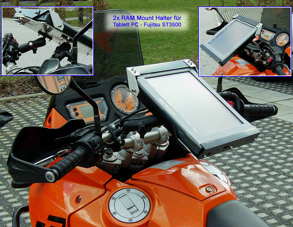 ram mount motorrad halterungen kugelflex bikehalter gps navi. Black Bedroom Furniture Sets. Home Design Ideas